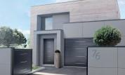 Gamme de modèles Coordonnés de portail, porte de garage et porte d'entrée sur mesure