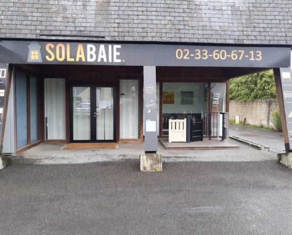 Magasin de fenêtres, portes et volets sur-mesure Solabaie à Avranches (50)