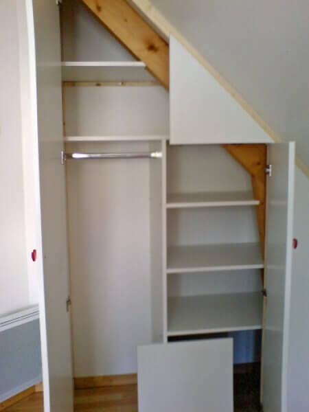fabrication et installation de placards r alisation de la menuiserie solabaie avranches. Black Bedroom Furniture Sets. Home Design Ideas