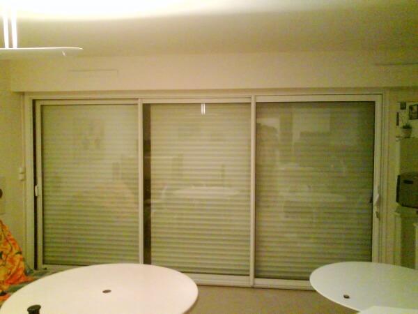 Les r alisations en menuiserie de renov 39 baie carnac for Pose baie vitree renovation