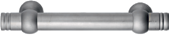 Baton de marechal horizontal (inox)