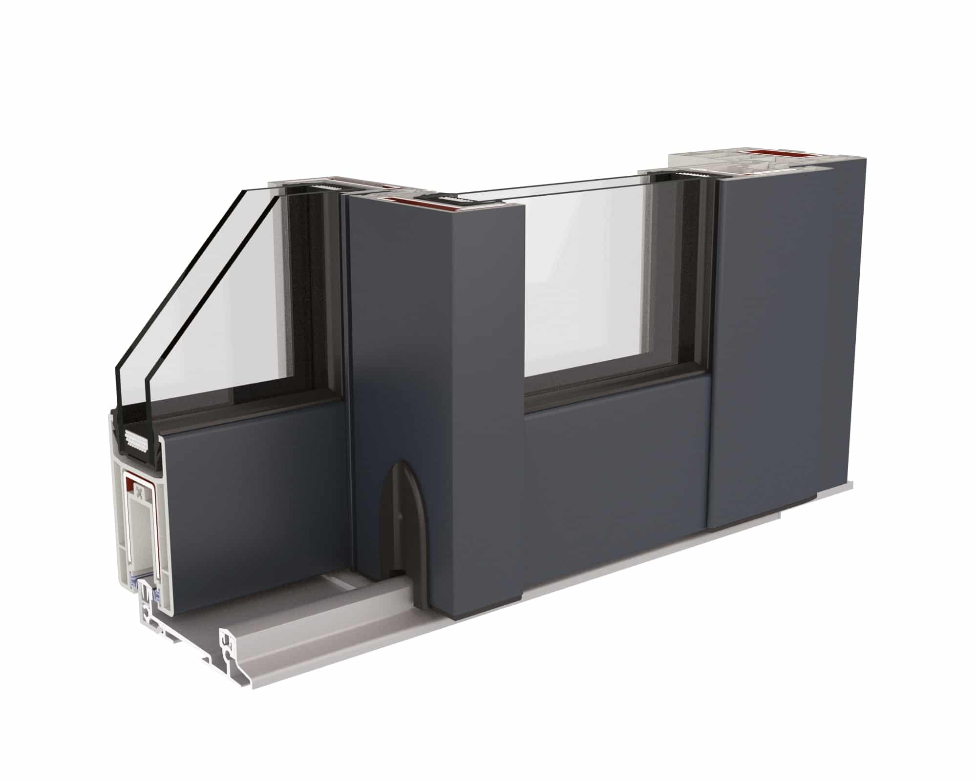 porte coulissante angle droit. Black Bedroom Furniture Sets. Home Design Ideas