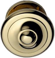 Bouton fixe rond (laiton)