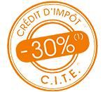 credit impot -30%