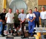 Equipe de la menuiserie des Caps Lamballe - Solabaie