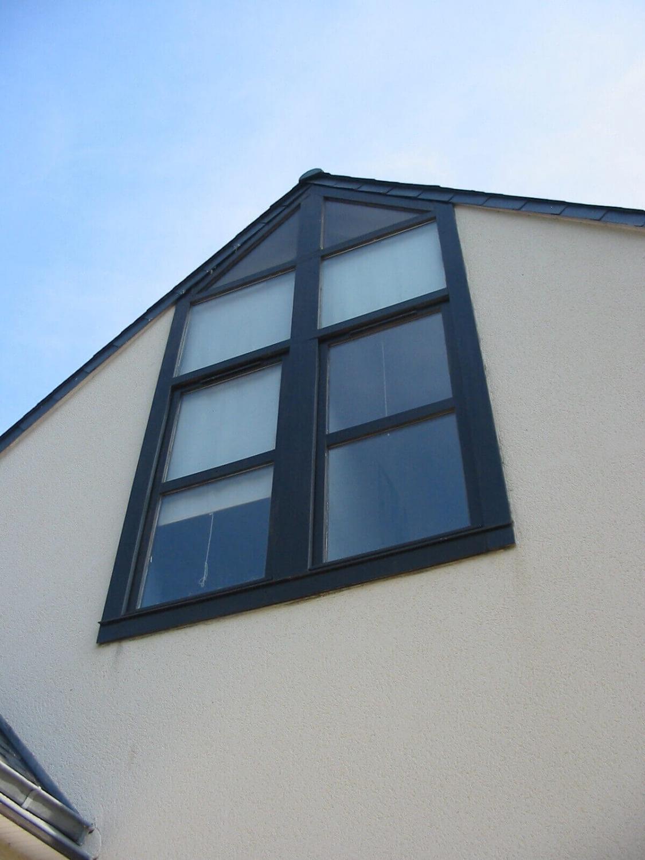 Fen tre alu couleur gris anthracite for Installation fenetre aluminium