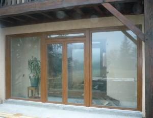 baie coulissante pvc sur mesure isolation baie vitr e en pvc solabaie. Black Bedroom Furniture Sets. Home Design Ideas