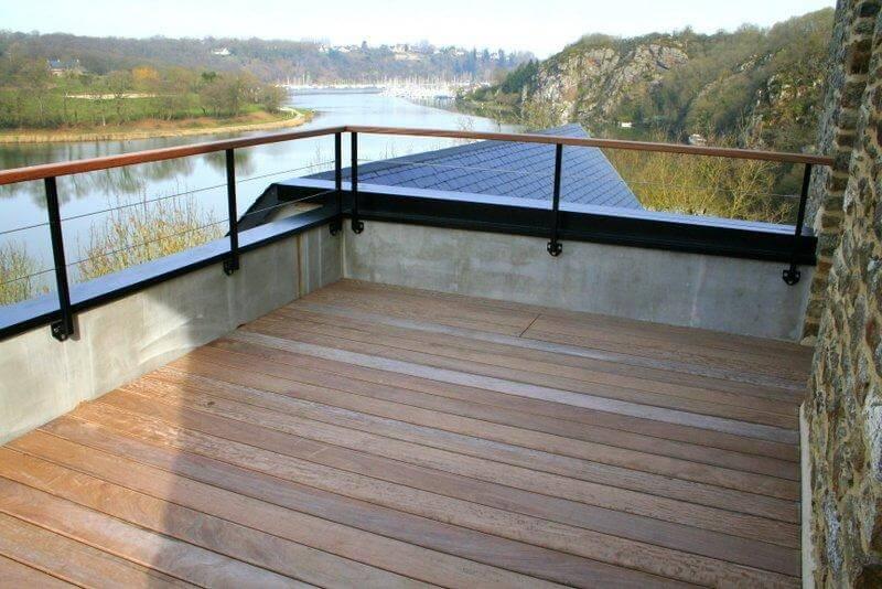 Installation de portes et fen tres par la menuiserie des caps exemples de r alisations Installer un paravent de terrasse