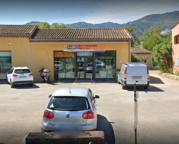 magasin de votre installateur de fenêtres, portes et volets Solabaie à Pégomas 06