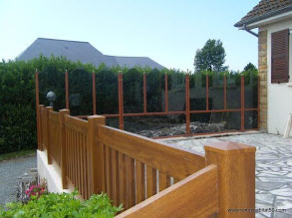 Renov 39 habitat d couvrez nos r alisations la haye du puits - Rambarde de terrasse en bois ...