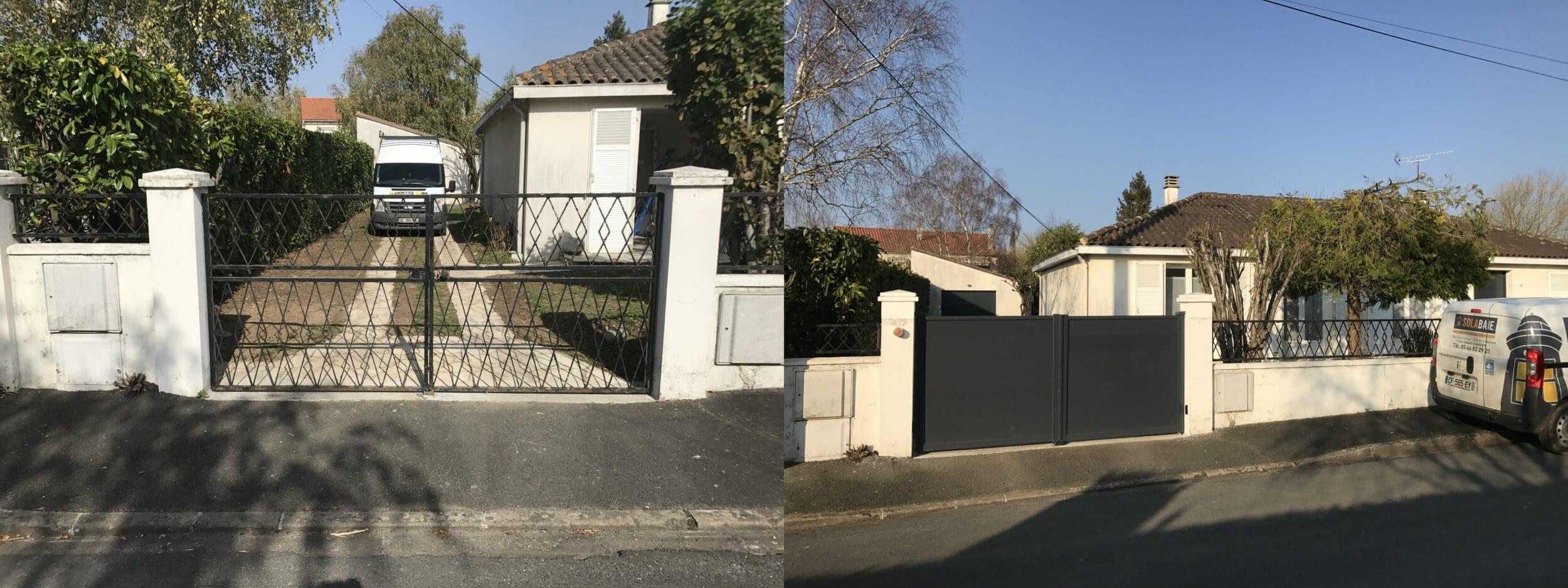 niort r novation totale de l 39 ext rieur de cette maison dans le quartier de brizeaux. Black Bedroom Furniture Sets. Home Design Ideas