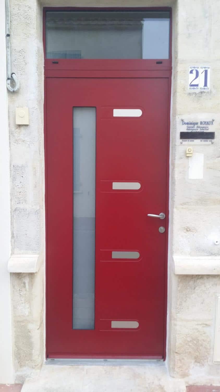 Solabaie rochefort d couvrez nos r alisations for Installation d une porte d entree