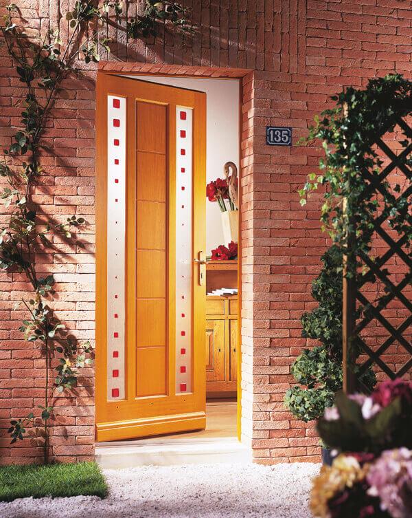 L 39 offre de porte d entr e en bois sur mesure solabaie - Porte d entree fermiere bois ...