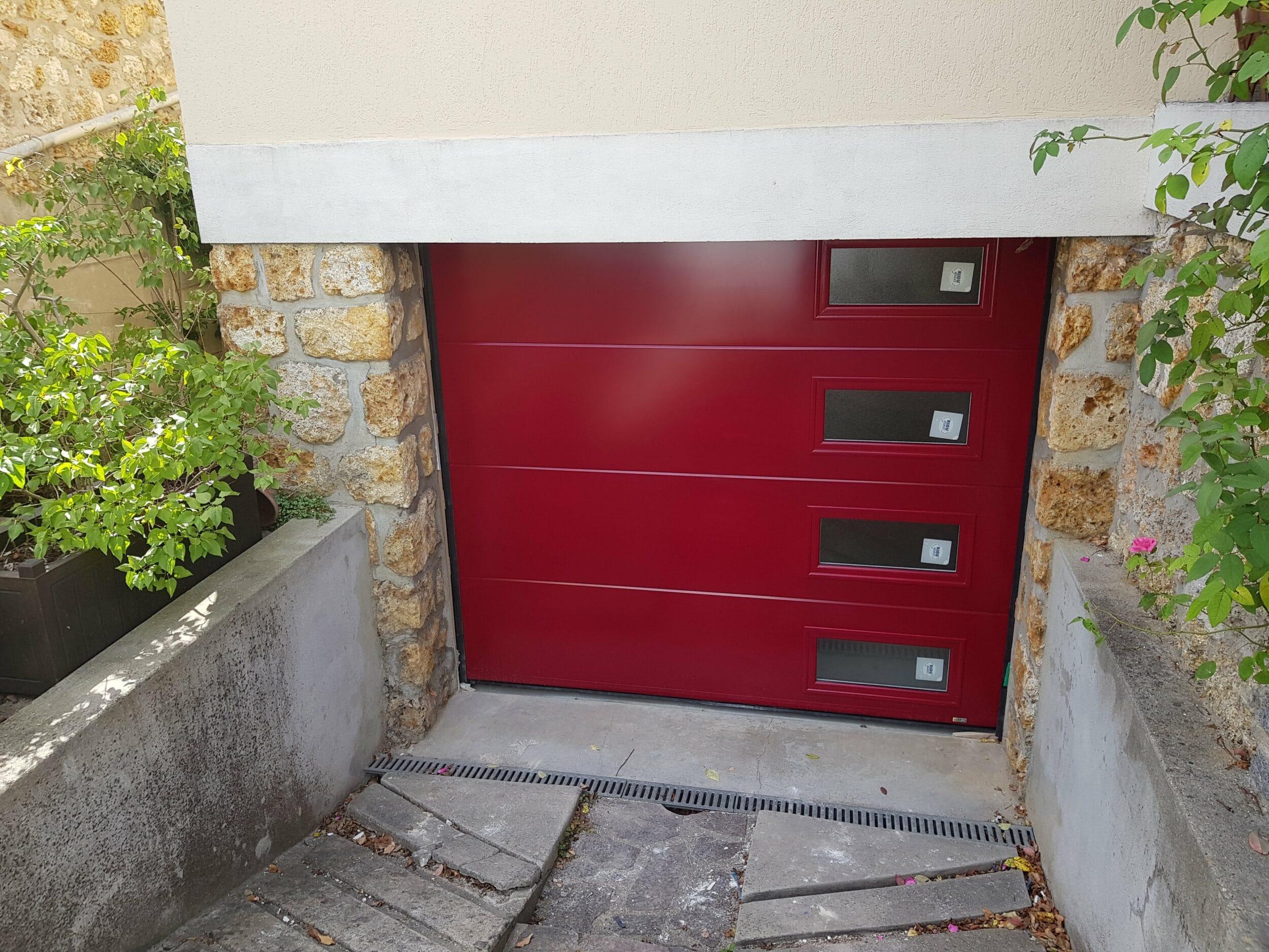 Les r novations d 39 eco ouest porte d 39 entr e et porte de - Porte de garage moderne ...