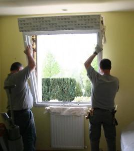 Pose d'une fenêtre PVC Solabaie