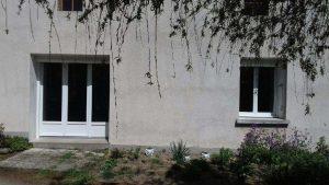 Rénovation d'une porte-fenêtre et d'une fenêtre PVC par Billy Menuiserie