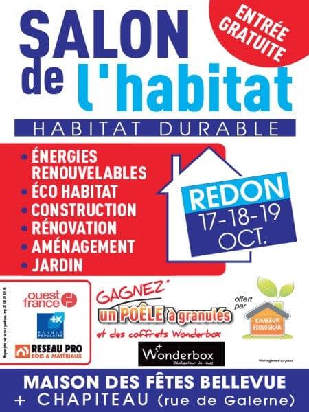 Belles baies vitr au salon de l 39 habitat durable edition 2015 for Salon de l habitat bretagne