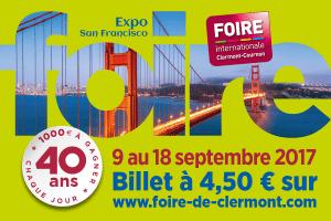 Steinmetz Solabaie présent à la Foire Internationale 2017 de Clermont-Cournon