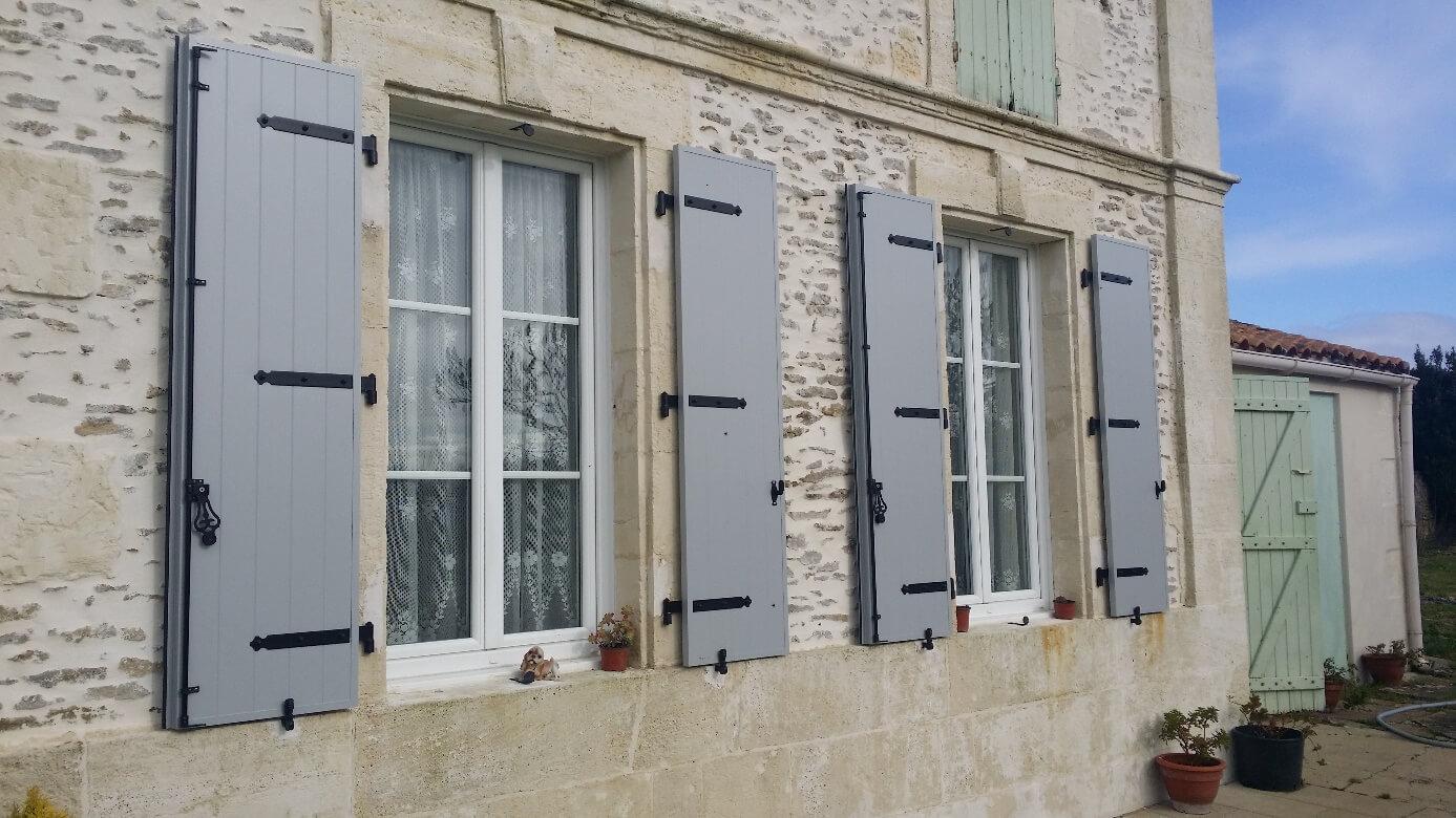 Connu Solabaie Rochefort : remplacement de volets battants à Tonnay  ZJ05