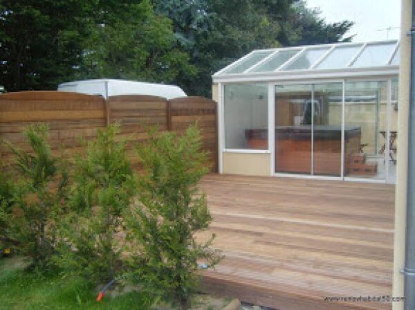 terrasse bois exotique r alisation de la menuiserie solabaie la haye du puits. Black Bedroom Furniture Sets. Home Design Ideas