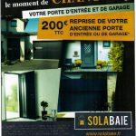 Promotion d'été chez votre installateur de portes, volets, fenêtres et portails Solabaie : la Menuiserie Criaud
