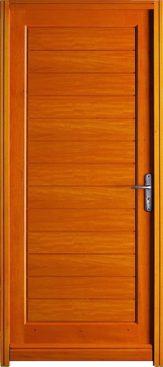 Atouts des portes d entr e en bois sur mesure solabaie for Lapeyre porte de service isolante