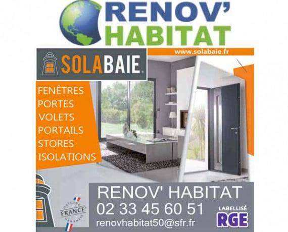 Entreprises de menuiserie solabaie dans le d partement manche solabaie for Renov habitat