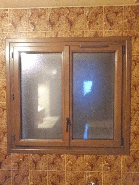 Fen tre en pvc aspect bois r novation solabaie savoie - Fenetre pvc renovation ...