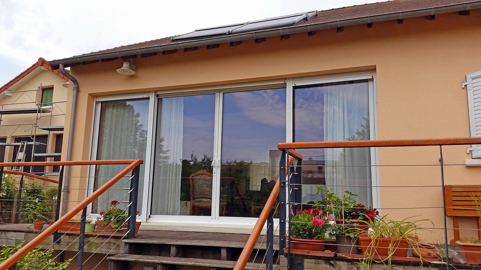 Fenetre Coulissante 4 Vantaux Maison Design