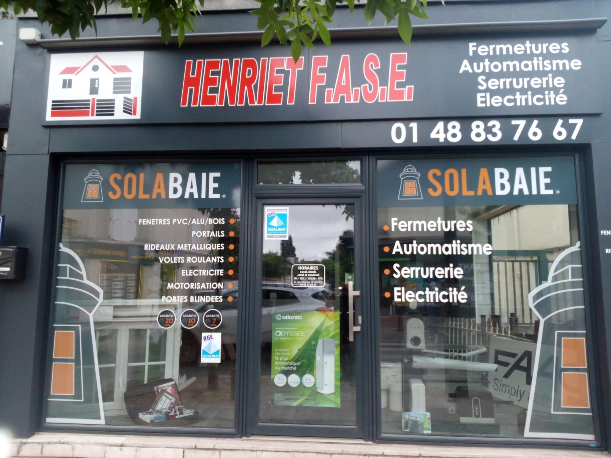 Nouveau Solabaie Henriet FASE Menuisier à StMaurdesFossés - Porte placard coulissante avec serrurier saint maur des fosses