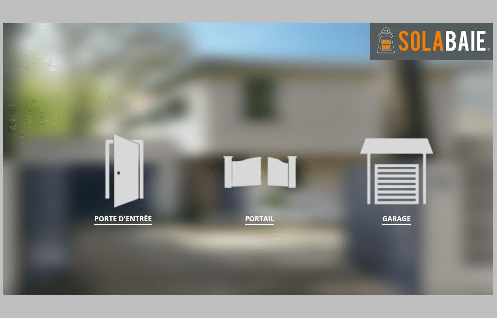 configurateur solabaie porte d 39 entr e porte de garage et portail. Black Bedroom Furniture Sets. Home Design Ideas