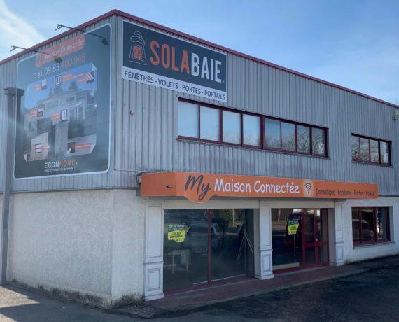 Votre magasin Solabaie Annecy pour vos fenêtres, portes et volets sur-mesure