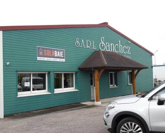 Sanchez & Fils, votre artisan-menuisier Solabaie à Nuits-Saint-Georges pour vos travaux de fenêtres, portes, volets et portails