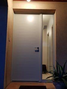 d 39 eco ouest porte d 39 entr e avec tierce fixe vitr e solabaie. Black Bedroom Furniture Sets. Home Design Ideas