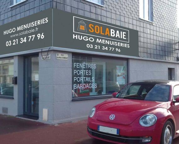 Magasin de votre installateur-conseil Solabaie Hugo Menuiseries à Calais