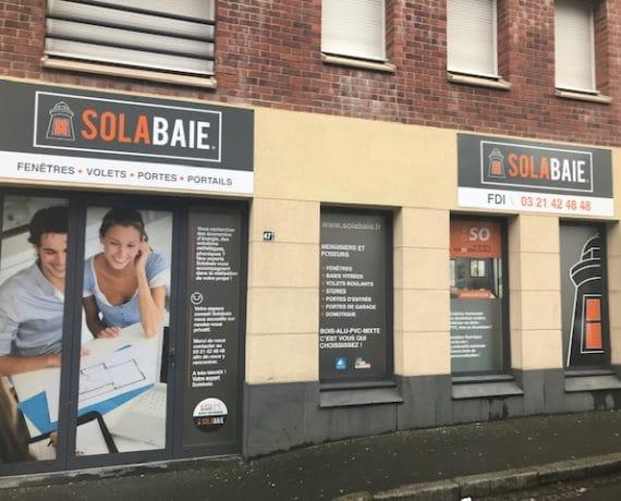 Votre espace conseil Solabaie à Arras pour tous vos projets de rénovation de menuiseries et fermetures