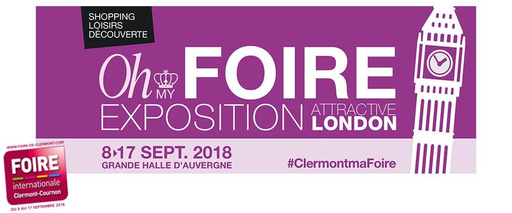 Foire internationale de Clermont-Cournon, à laquelle sera présent votre installateur Solabaie de fenêtres, portes, portails et volets : Steinmetz Ortigier Issoire