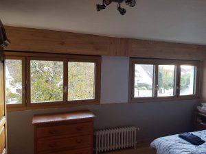 Réalisations de Solabaie Saint-Ouen-l'Aumône : Installation de fenêtres mixtes SO' extérieur alu intérieur bois