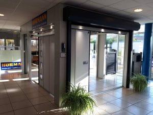 Intérieur du magasin Bernardi Solabaie dans le Loiret