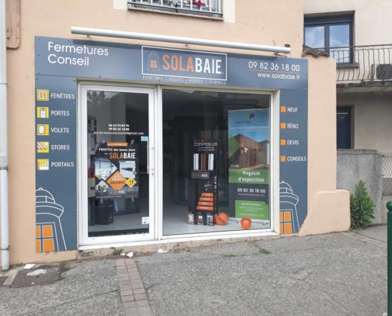Votre installateur de fenetres, portes et volets Solabaie à Seysse (31)