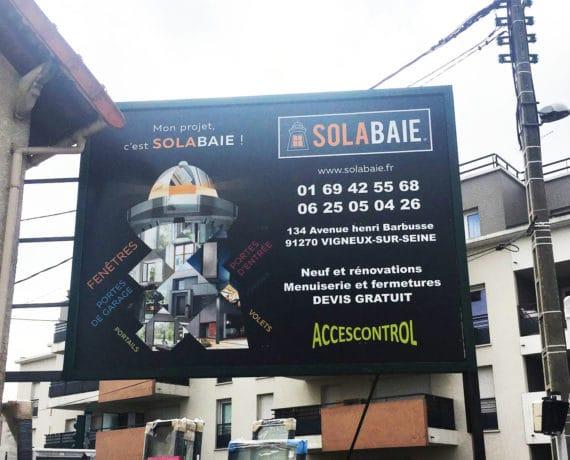 Accescontrol Solabaie votre installateur de fenêtres, portes et portails à Vigneux sur Seine(91)
