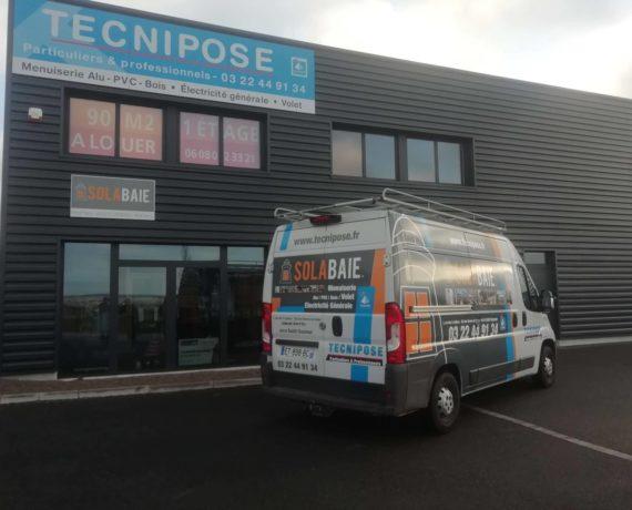 Tecnipose votre professionnel de la menuiserie et fermeture Solabaie près d'Amiens