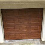 Porte de garage à Margency par Veran Nove