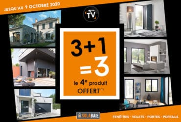 Promo de rentrée Solabaie : 3+1=3 votre 4eme produit offert !