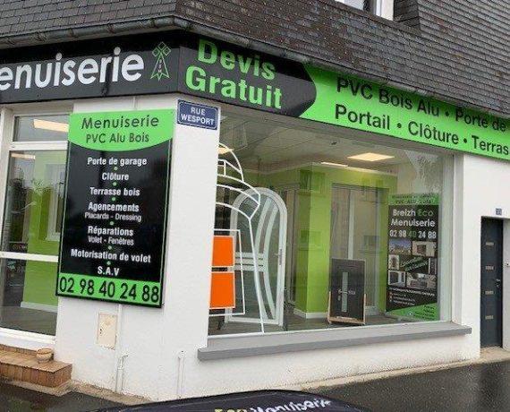 Votre installateur de fenêtres, portes, volets et portails Solabaie à Plougastel Daoulas dans le Finistère