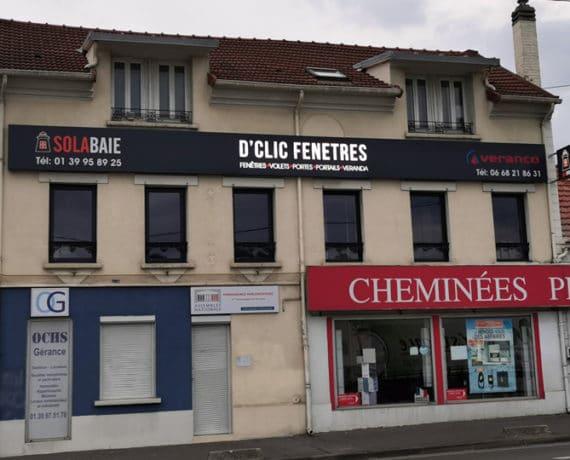 D'Clic Fenêtres, votre magasin de fenêtres, portes, volets et portails Solabaie à Herblay (95)