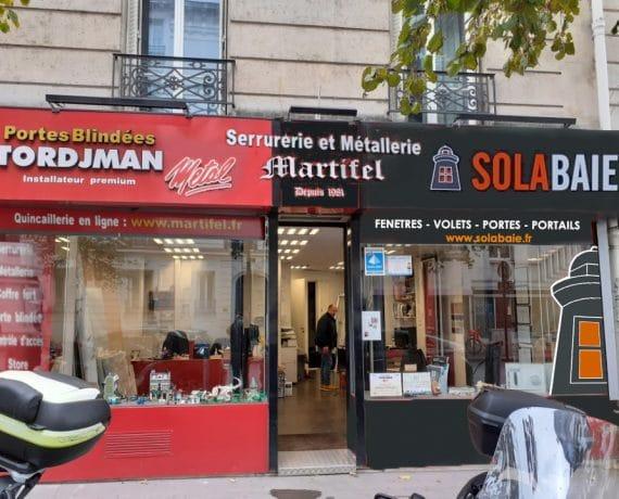 Martifel, votre professionnel Solabaie dans le 17è arrondissement de Paris